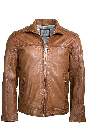 Trapper - Chaqueta - piel - para hombre cognac 702 54 ...