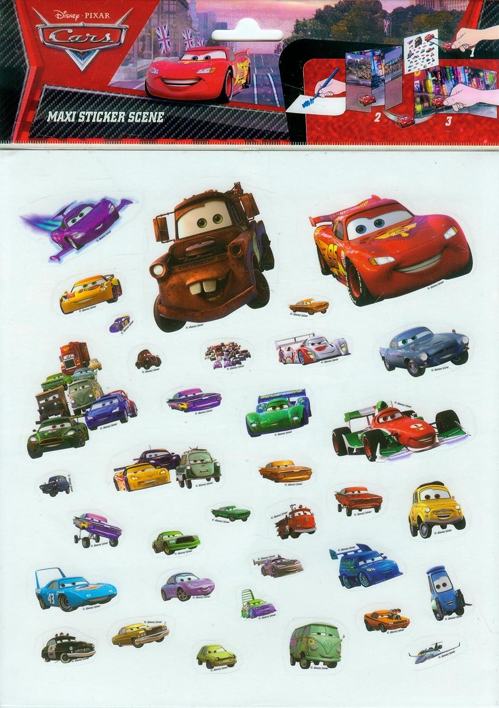 Cars Pegatinas Maxi Sticker Panini