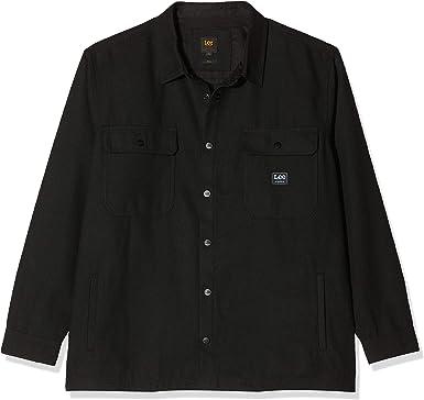 Lee Workwear Overshirt Plus Size Camisa para Hombre