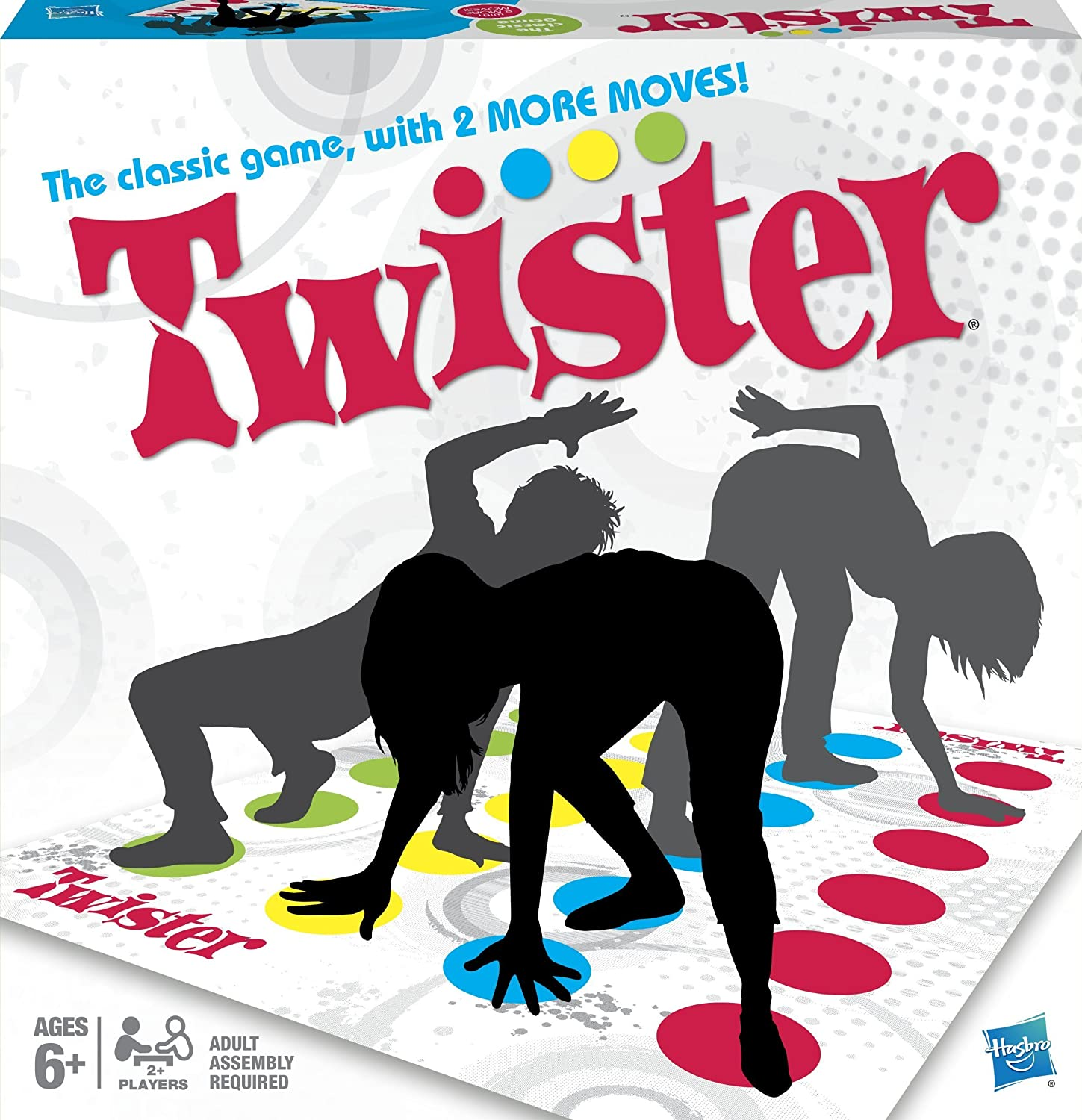 image of the Twister game set in a box