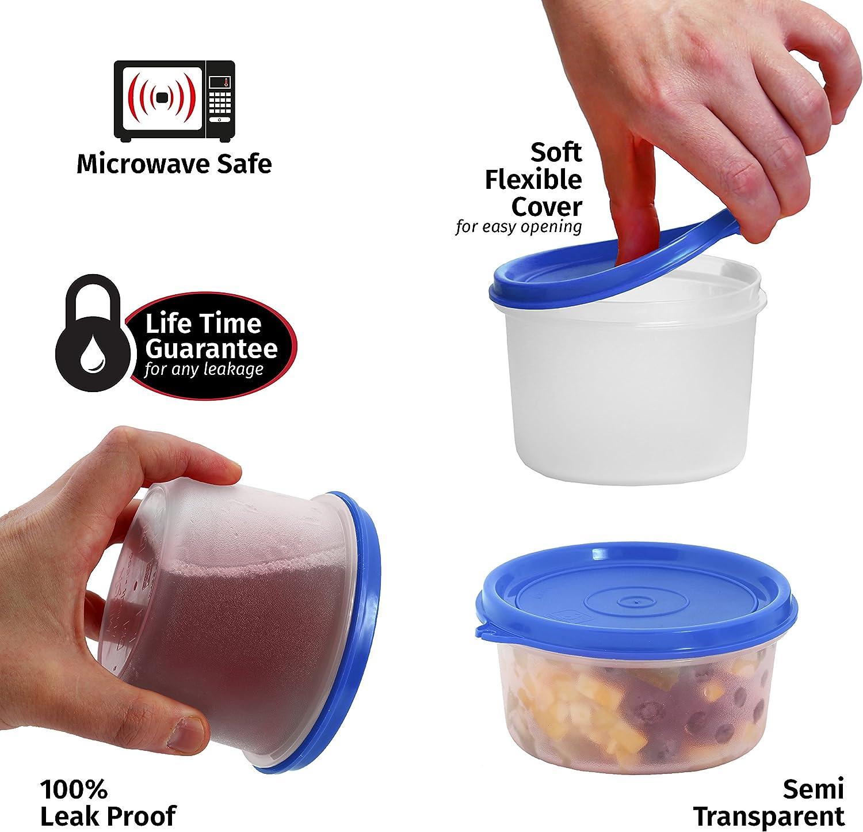 i-fresh comida Prep almuerzo caja alimentos contenedores con tapa ...