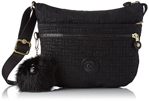 153cc33dbbc Kipling Arto S, Women's Cross-Body Bag, Black (Black Pylon Emb ...