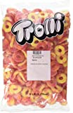 Trolli Peachie O's Sour Gummy Candy, 5 Pound Bulk Candy Bag