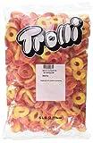 Trolli Peachie O's Sour Gummy Candy, 5 Pound Bulk Candy Bag