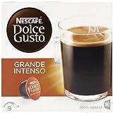 Nescafé Dolce Gusto - Grande Intenso - Cápsulas de café - 3 Paquetes de 16 Cápsulas - Total: 48 Cápsulas