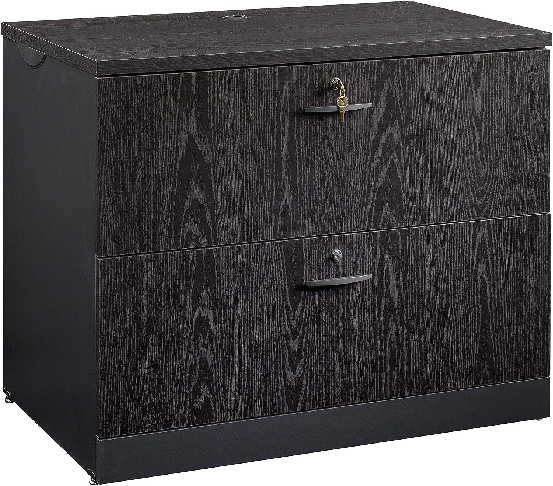 Sauder 419605 Via Lateral File, Bourbon Oak Finish