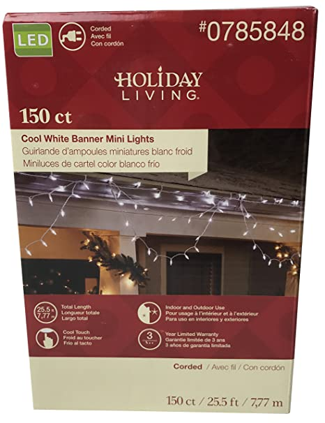 Amazon.com: Luces perfecto para decoración: 150 Count Blanco ...