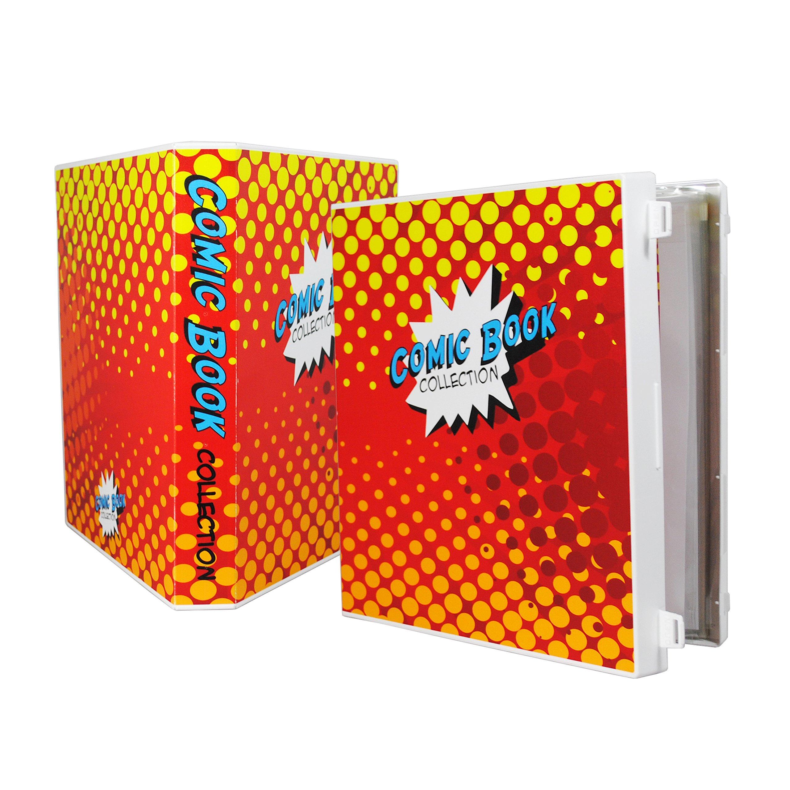 UniKeep Comic Book Collection Storage Album and Binder