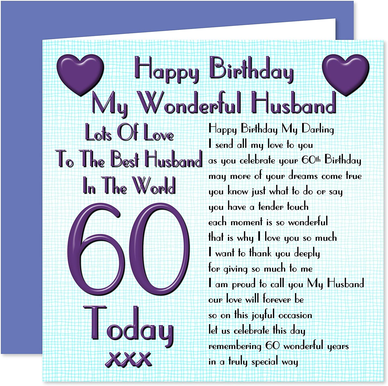 Birthday card husband