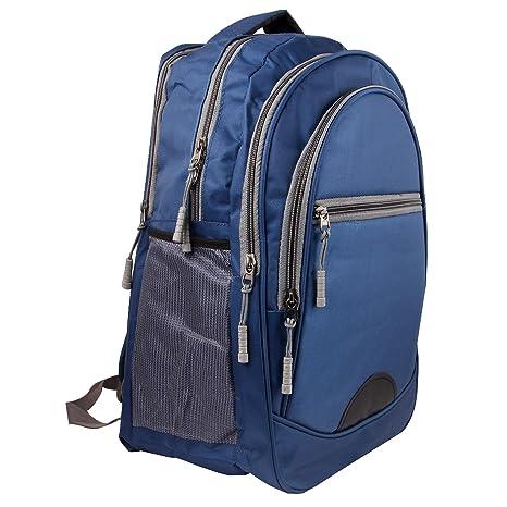 20a1b5563c50 Shaina Bags Fabric Nylon 15.6 Inch Black and Grey School Laptop Bag  Amazon. in  Bags