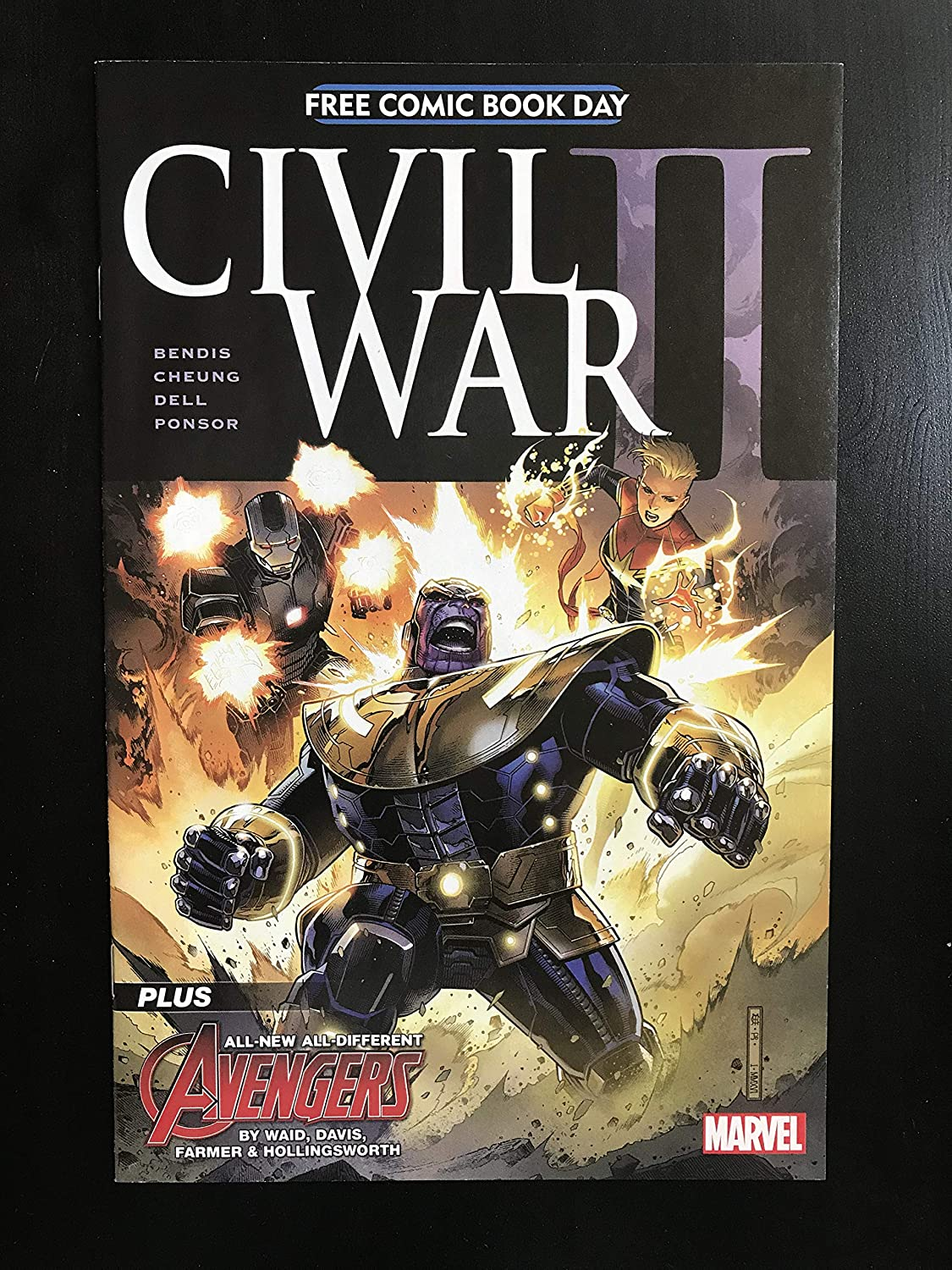 Civil War II #1 2016 Marvel Comic Book FCBD First Appearance of The Wasp NM Condition