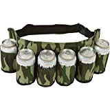 EZ Drinker Redneck Beer & Soda Can Holster Belt (Camouflage)