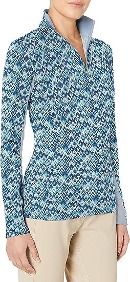 Ariat Women/'s Bit Up Shirt Blue Print Different Sizes