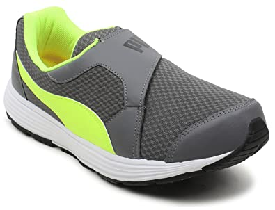 Puma Men s Reef Slip-On Idp Asphalt-Safety Yellow Running Shoes-11 UK India  (46 EU) (4059504225712)  Buy Online at Low Prices in India - Amazon.in 689926601