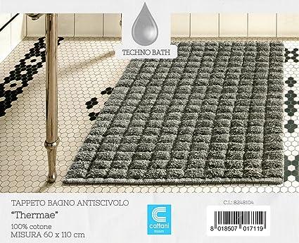 Tappeto bagno antiscivolo misura cm  cotone