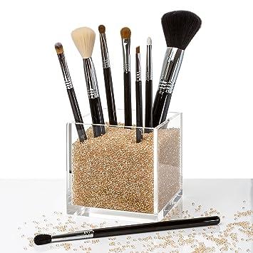 Amazoncom Acrylic Makeup Organizer Counter Top Makeup Brush - Acrylic makeup organizer