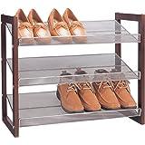 Organize It All Boston 3-Tier Shoe-Shelf