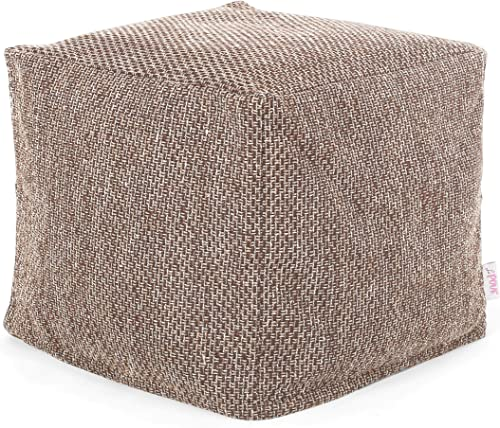 Christopher Knight Home Fannie Fabric Pouf