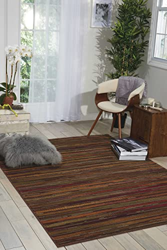 Nourison Paramount Collection Multicolor Area Rug, 7 feet 10 Inches by 10 feet 6 Inches 7 10 x 10 6