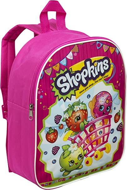 Shopkins Girl/'s Junior Backpack