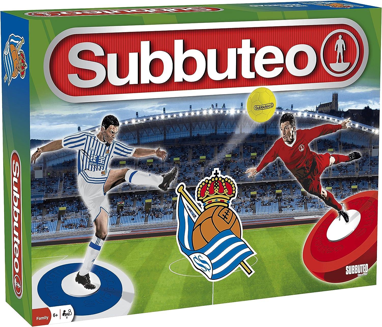 Subbuteo Playset Real Sociedad: Amazon.es: Deportes y aire libre