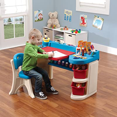 Studio Art Desk - Creative art space for your young artist