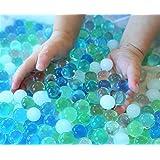 SENSORY4U Water Beads Ocean Breeze (8oz Bag Thousands of Beads) 5 Colors - Dew Drops A Tactile Sensory Beads Experience -