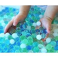 SENSORY4U Water Beads Ocean Breeze (8oz Bag Thousands of Beads) 5 Colors - Dew Drops A Tactile Sensory Beads Experience…
