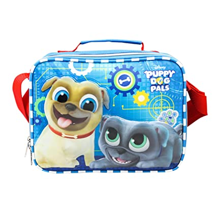 daf321b93ad Image Unavailable. Image not available for. Color  Disney 9.5 quot  PUPPY  DOG PALS Bingo   Rolly School Lunch Bag