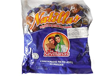 Las Sevillanas Goat milk soft taffy candy natilla de leche