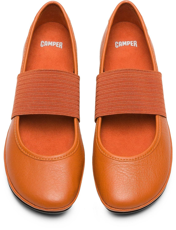 Camper Women's Right Nina Ballet Flat B079JRMCJP 38 M EU|Rust/Copper