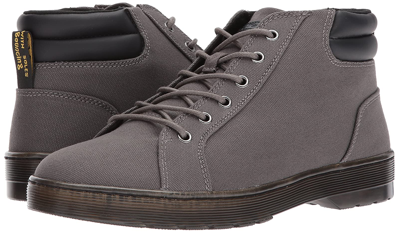 Dr. Martens Men's Plaza Gunmetal Fashion Boot R22864029 - 6