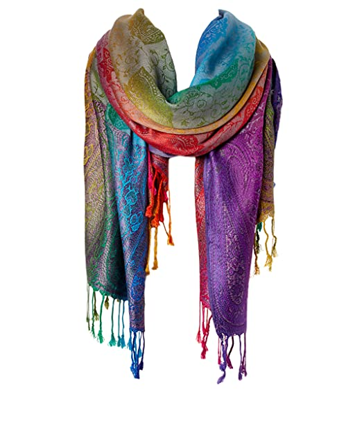 bae31a7d766 Fashion Women's Silk Scarf Luxury Satin Shawl Wraps