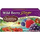 Celestial Seasonings Herbal Tea, Wild Berry Zinger, 20 ct