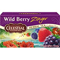 Celestial Seasonings Té, Wild Berry Zinger, 47 g