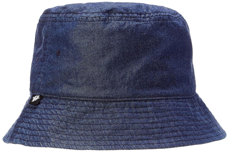 Amazon.com  Rebel Canyon Men s Denim Heavy Wash Bucket hat Dark Blue   Clothing 38023ac7126