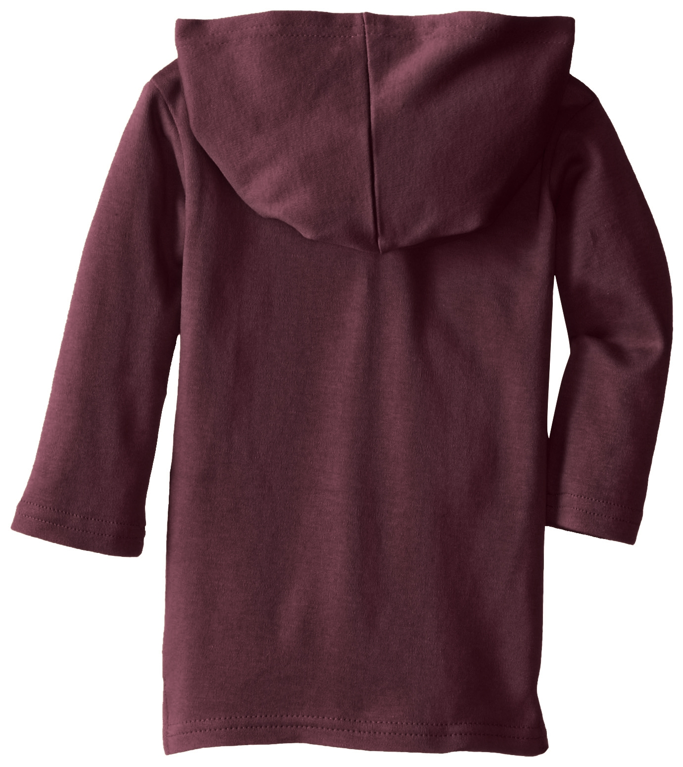 L'ovedbaby Unisex-Baby Newborn Organic Hoodie, Eggplant, 12/18 Months by L'ovedbaby (Image #3)