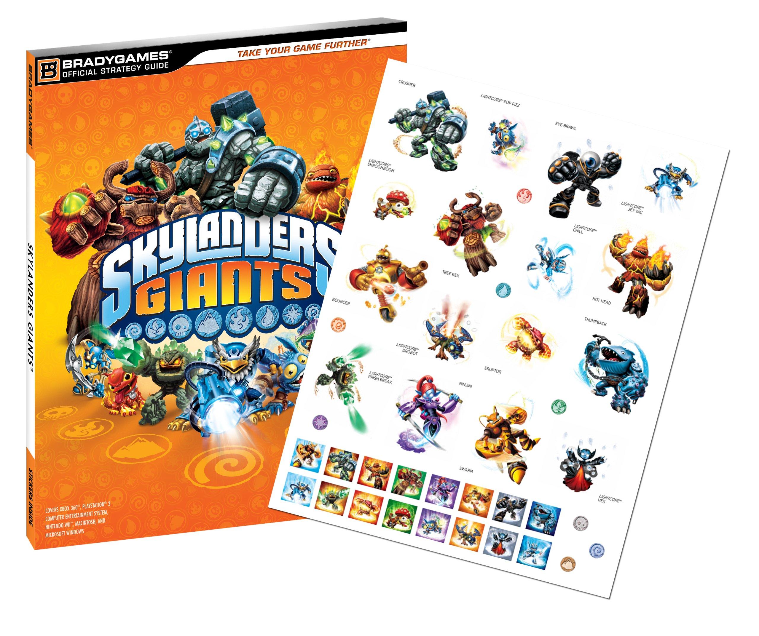 skylanders giants official strategy guide bradygames official rh amazon co uk Skylanders Characters Skylanders Characters