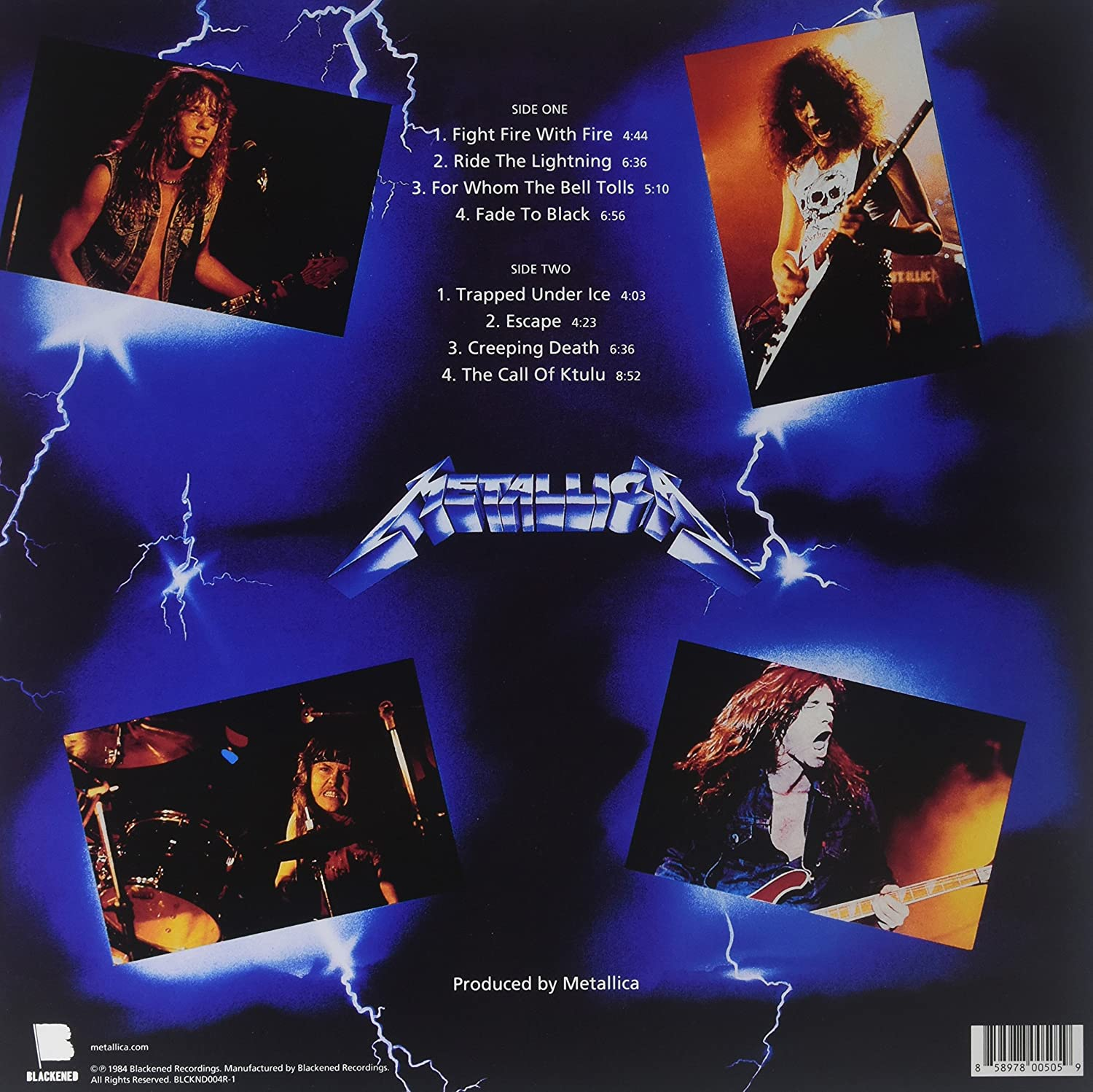 metallica remastered albums review