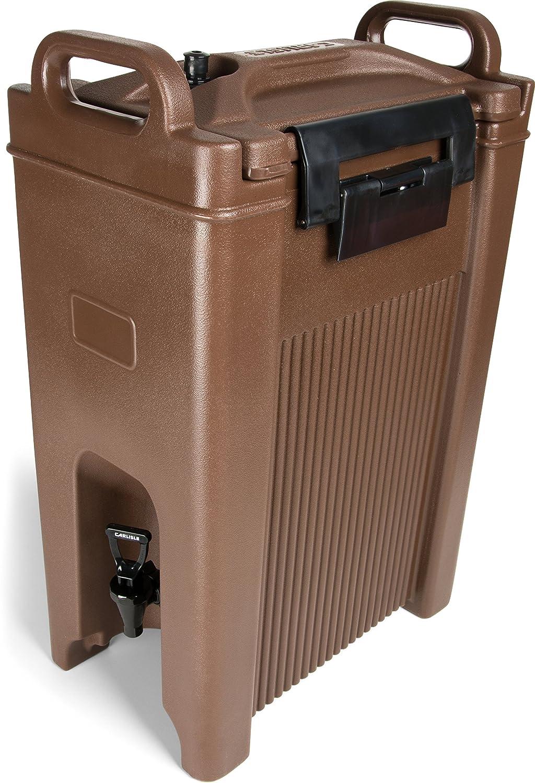 Carlisle XT500001 Cateraide Insulated Beverage Server/Dispenser, 5 Gallon, Brown
