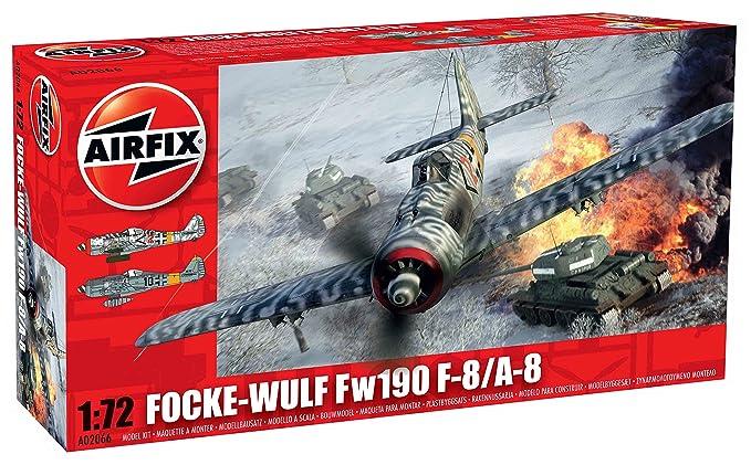 Airfix - AI02066 - Maquette - Fock Wulf A8 / F8 - Nouveau Moule