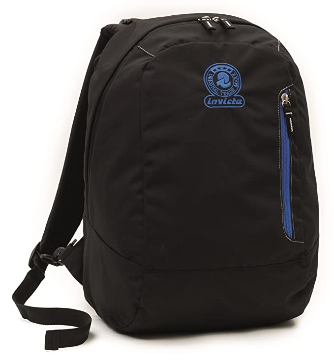 39fb9d39f926 INVICTA - TWIST - double face - 2 Backpack in 1 - Black Blue REVERSIBLE 26  LT  Amazon.co.uk  Sports   Outdoors