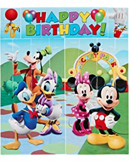 Amazon Com Customized Mickey Mouse Clubhouse Birthday Party