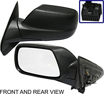 A BRAND NEW POWER HEATED MIRROR~05~10 Grand Cherokee LEFT SIDE DRIVER~W//O MEMORY