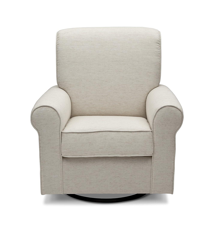 Amazon Delta Furniture Avery Upholstered Glider Swivel Rocker
