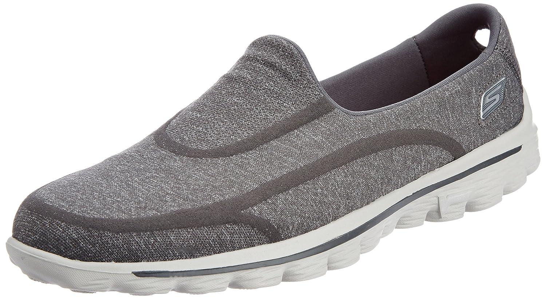 TALLA 35.5 EU. Skechers Go Walk 2Super Sock, Zapatilla de Deporte para Mujer