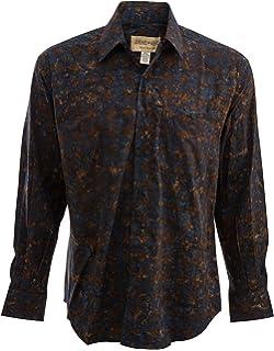 8c1b9fad02f1 Gentlemens Collection Light-Weight Batik Modern Design Long-Sleeve ...