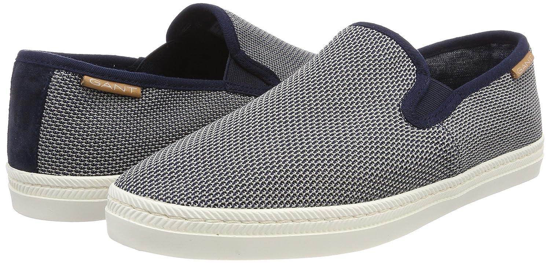 GANT Viktor, Mocasines para Hombre, Azul Marino, 45 EU: Amazon.es: Zapatos y complementos