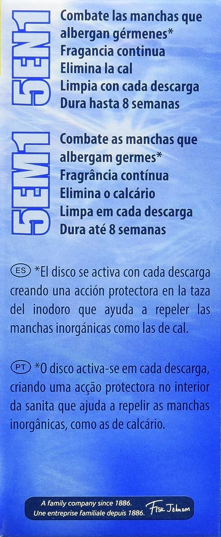 Pato - Discos Activos Marine - 36 ml - [Pack de 5]: Amazon.es: Salud y cuidado personal