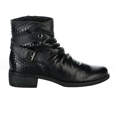 bas prix 66136 9e63e Boots femme - PAULA URBAN - Noir - 14320 - Millim: Amazon.fr ...